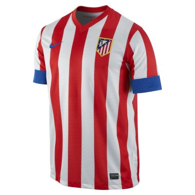12-13 Atletico Madrid Home Jersey