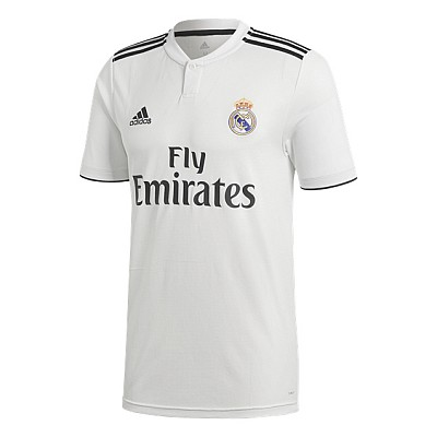 18-19 Real Madrid Home Jersey