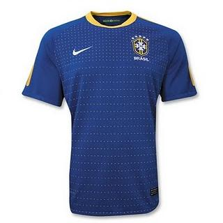10-12 Brazil Away Football Shirt
