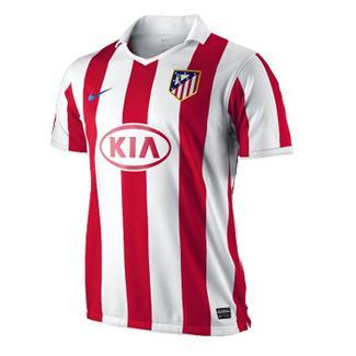 10-11 Atletico Madrid Home Jersey